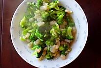 家常菜-清炒西兰花虾仁的做法