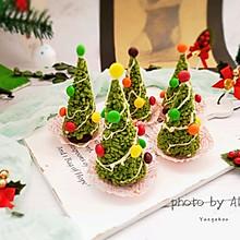 抹茶卜卜米圣诞树#令人羡慕的圣诞大餐#