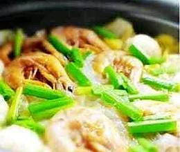 虾干煮白菜的做法