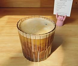 一杯只有80kcal低碳生酮版脏脏杏仁奶拿铁(附杏仁粉做法)的做法