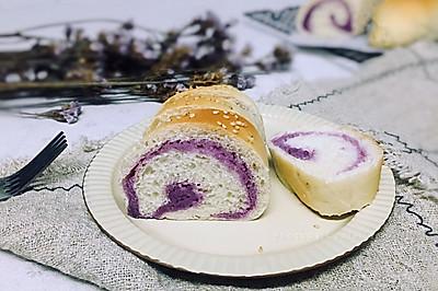 紫薯奶酪软欧(水合法)