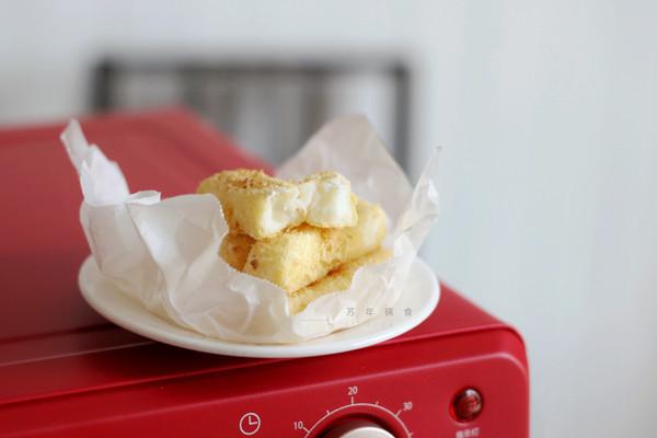 炸鲜奶(附自制面包糠做法)的做法