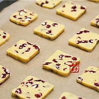 【曼步厨房】蔓越莓曲奇饼干的做法图解9