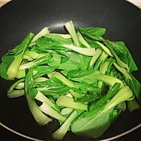 羊油炒青菜的做法图解6