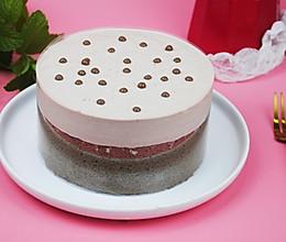 #带着零食去旅行!#奶盖巧克力蛋糕的做法