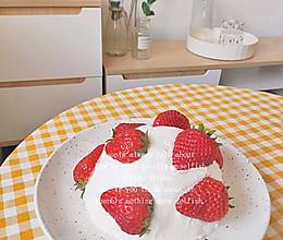 草莓炸弹网红蛋糕的做法