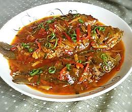 下饭菜~红烧鲫鱼。的做法