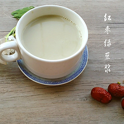 红枣绿豆浆