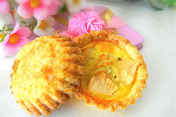 下午茶点——苹果乳酪挞的做法