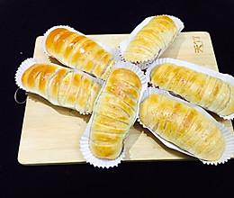 豆沙卷面包-快手早餐面包的做法