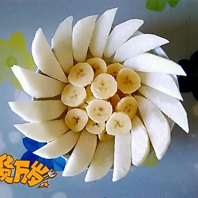 太阳花水果拼盘