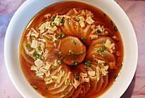 清甜鲜香的寿喜瑶柱蒸萝卜的做法