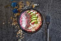 甜菜根燕麦酸奶的做法