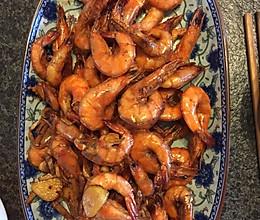 黄油蒜香大明虾的做法