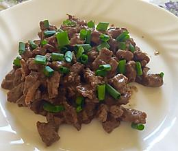 炒牛肉的做法