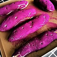 仿紫薯面包~网红面包的做法图解15
