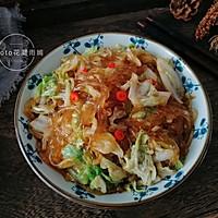 家常下饭菜--白菜炒粉条的做法图解9