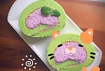 菠菜紫薯蛋糕卷的做法