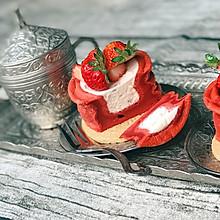 日本红丝绒杯子蛋糕+#蔚爱边吃边旅行#