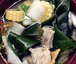 排骨冬瓜海带汤的做法