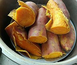 蒸红薯  高压锅的做法