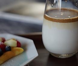 韩式泡沫咖啡的做法