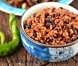 红豆糙米饭的做法