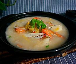 海鲜螃蟹粥----自己做的放心的做法