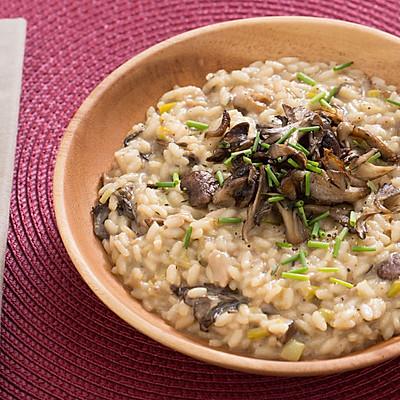 輕食·牛肝菌與混合菌菇意大利調味飯