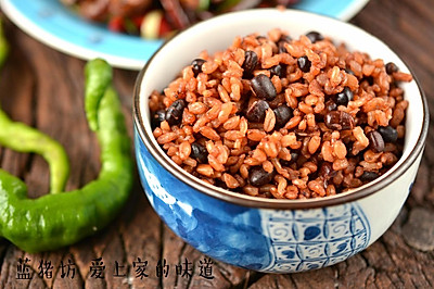 红豆糙米饭