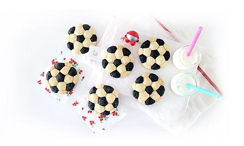 香软足球司康饼,宝宝的世界杯特别下午茶的做法