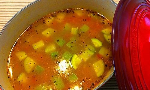意大利蔬菜浓汤的做法