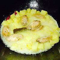 香辣土豆咖喱鸡翅--雄鸡标椰浆试用报告四的做法图解11
