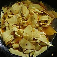 #父亲节,给老爸做道菜#干豆腐包菜炒鸡片的做法图解5