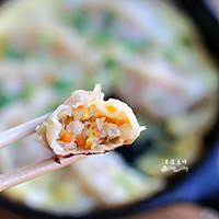 蔬菜肉末鸡蛋煎饺#太太乐鲜鸡汁中式#的做法图解9