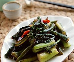 酸辣红菜苔的做法