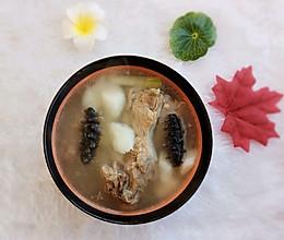 海参山药骨头汤的做法