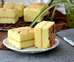 葱香肉松蛋糕的做法