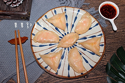 鸡肉红萝卜白菜饺