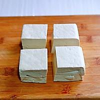 #憋在家里吃什么#茄汁鹌鹑蛋酿豆腐的做法图解1