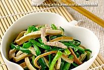 香干炒韭菜的做法