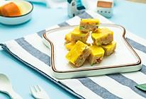 三文鱼杂蔬蒸糕的做法