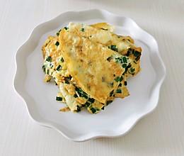 韭菜鸡蛋煎饼-新味蕾的做法