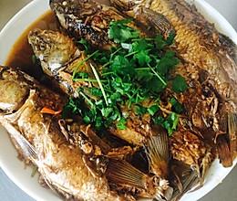 红烧个不知是什么鱼的鱼的做法