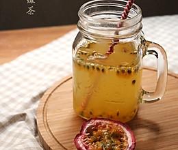 百香果绿茶的做法