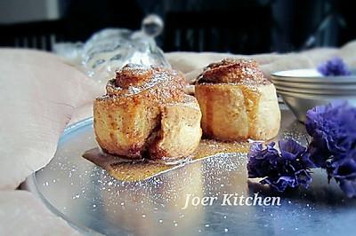 肉桂卷——秋冬暖暖
