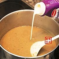 【曼步厨房】野生菌菇奶油浓汤的做法图解7
