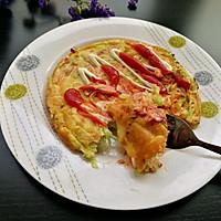 蔬菜饼#舌尖上的春宴#的做法图解7