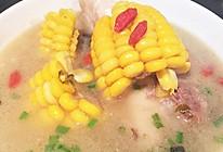 玉米筒骨汤的做法