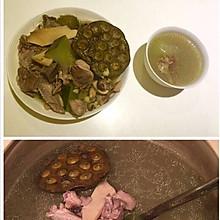 石斛水鸭汤